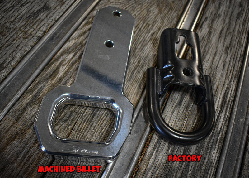 2009-2020 Ford F-150/Raptor Machined Billet Tow Hooks