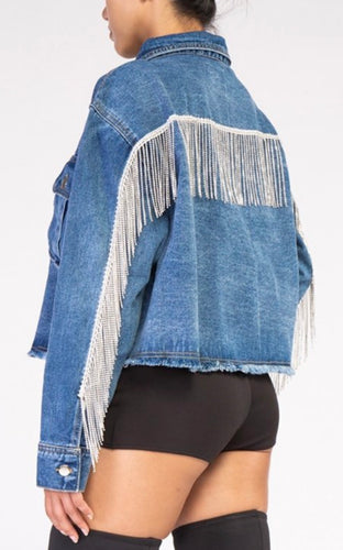 Crystal Denim Jacket