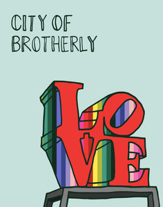 City of Brotherly Love Print 11x14