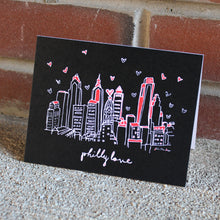 Load image into Gallery viewer, Philly Love Card Pack of 6, Philadelphia Art