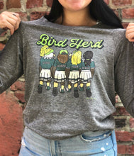 Load image into Gallery viewer, Bird Herd Pullover, Philadelphia Art, Eagles Football, Eco Gray