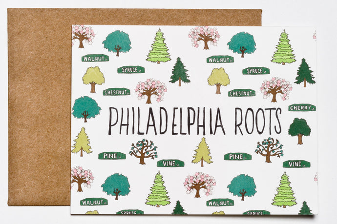 Philly Roots Greeting Card