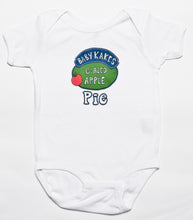 Load image into Gallery viewer, Babykakes Glazed Apple Pie Baby Baby Bodysuit, Philadelphia Art