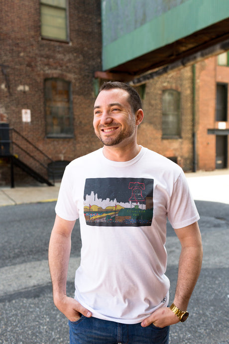 Citizens Bank Tee, Philadelphia Art