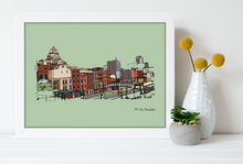 Load image into Gallery viewer, Old City Print 11x14, Philadelphia Art