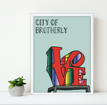 Load image into Gallery viewer, City of Brotherly Love Print 11x14