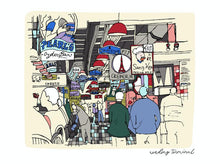 Load image into Gallery viewer, Reading Terminal Market Print 11x14, Philadelphia Art