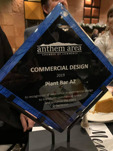Thank you so much for honoring us with Best Commercial Design of 2019!