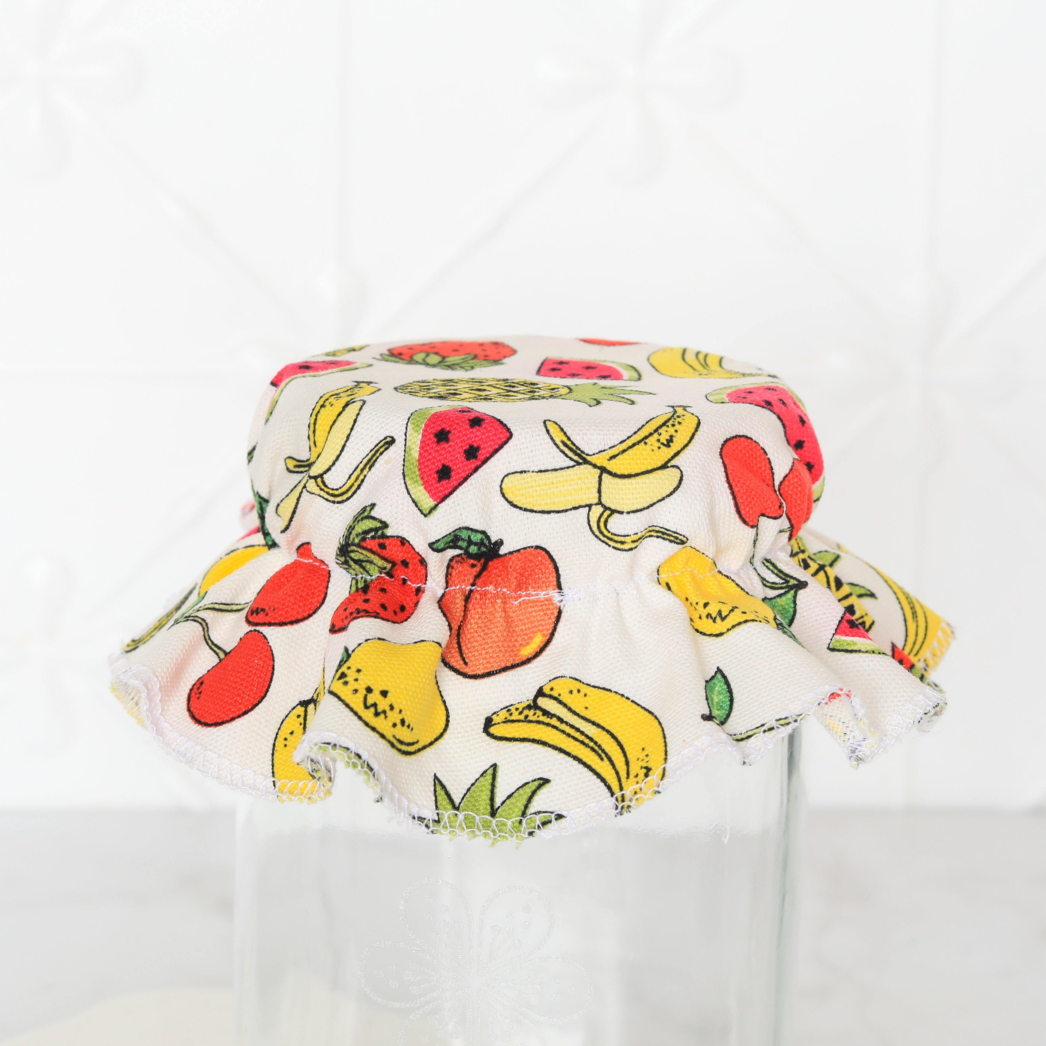 Elasticated Cotton Lid fruits