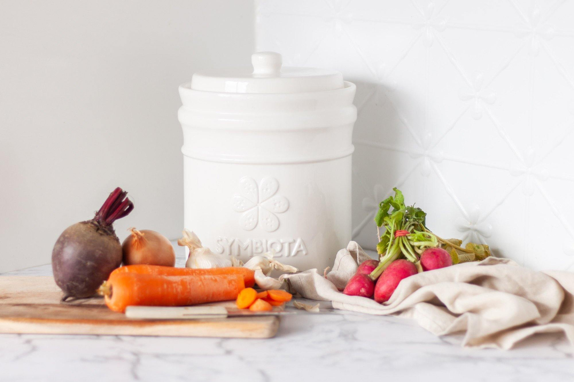 4.5L Fermentation pot by Symbiota. Make your own Fermentation food.