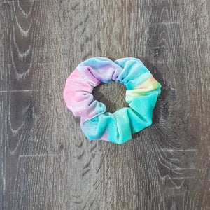 Rainbow Velvet Scrunchie - Le Chatelier Pole Wear