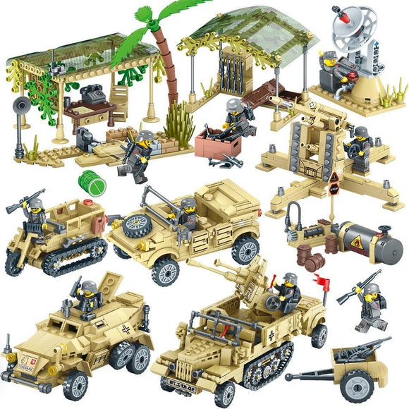 Building Blocks - Campo Militar