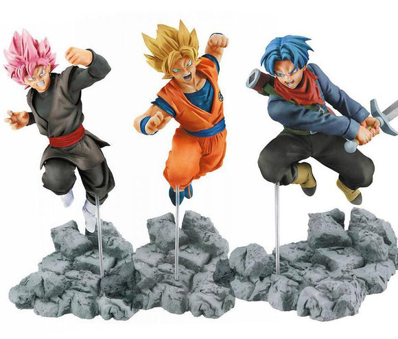 Dragon Ball - Goku / Goku Black / Trunks