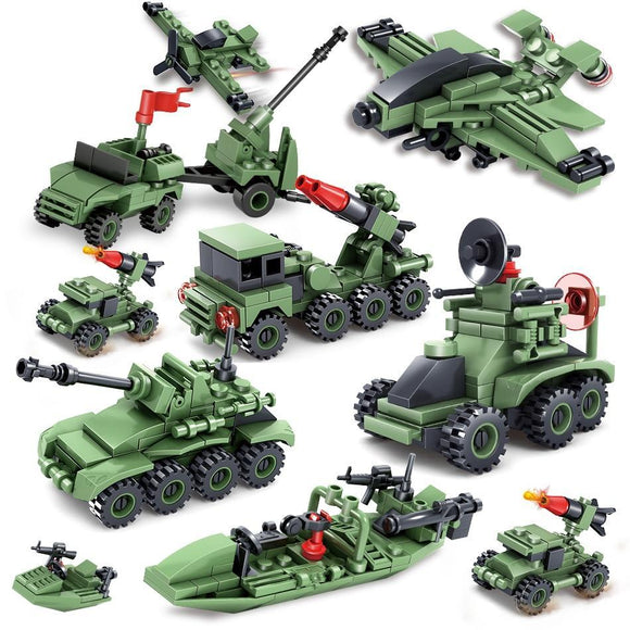 Building Blocks - Exército Militar