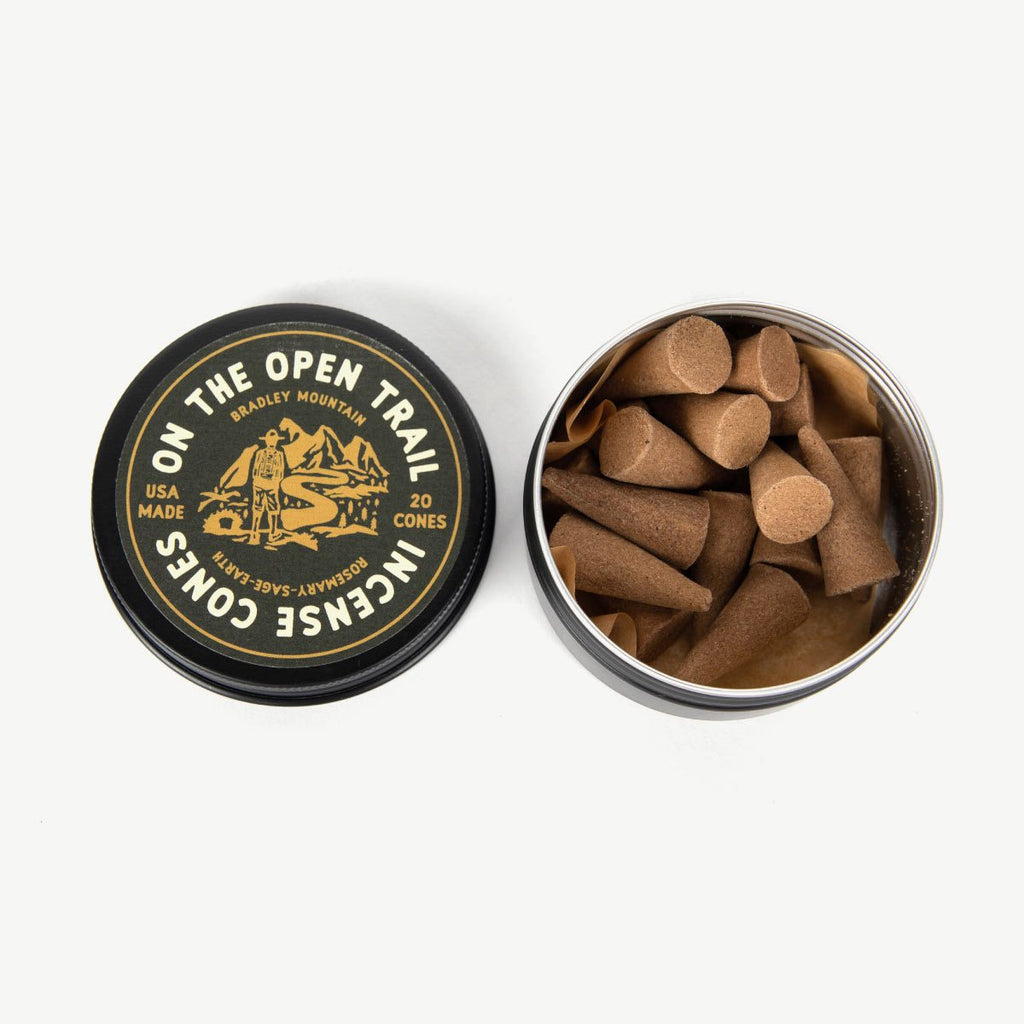 On The Open Trail Incense Cones - Thirdmark Supply House