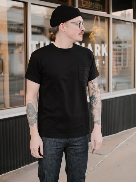 3sixteen Heavyweight T-Shirt - Black - Thirdmark Supply House