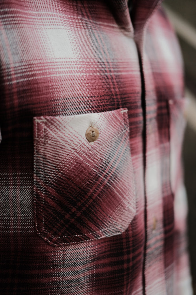 3Sixteen Brushed Flannel Utility Shirt - Thirdmark Supply House
