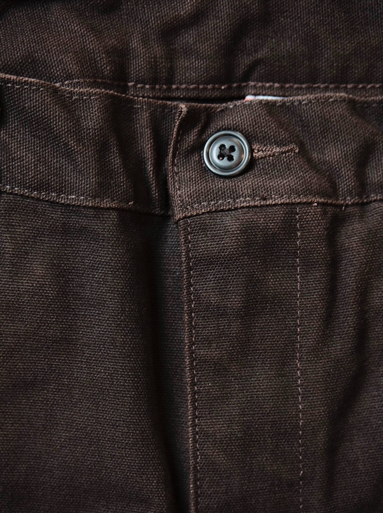 Left Field Chocolate Duck Work Chino - Thirdmark Supply House