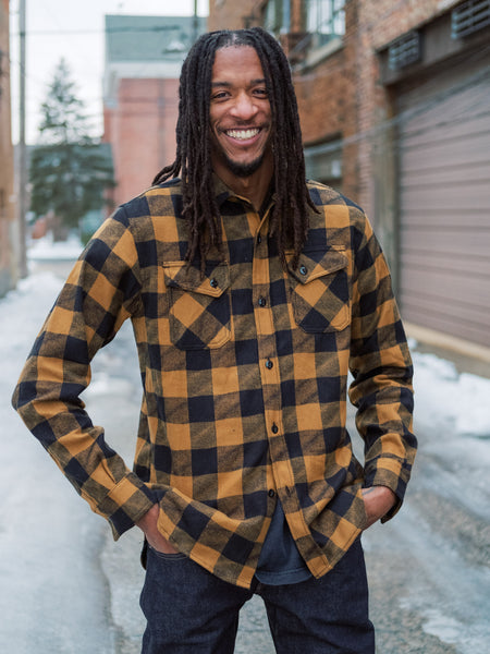 3sixteen Crosscut Flannel Drunk Check - Thirdmark Supply House