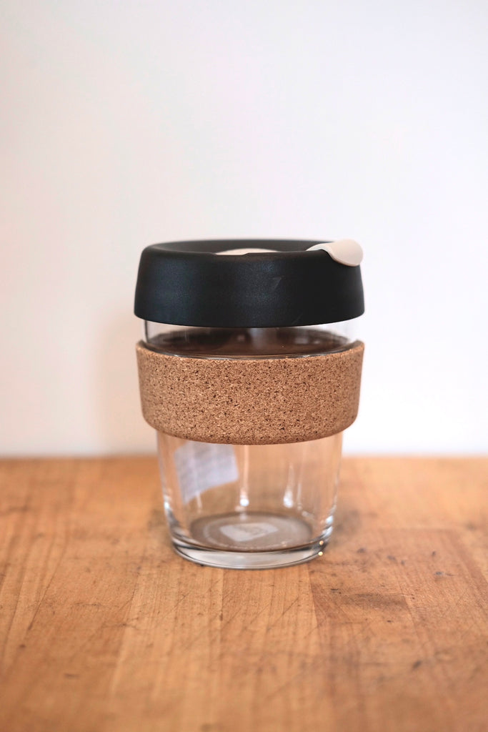 KeepCup Brew Cork 12oz - Charcoal/White - Thirdmark Supply House