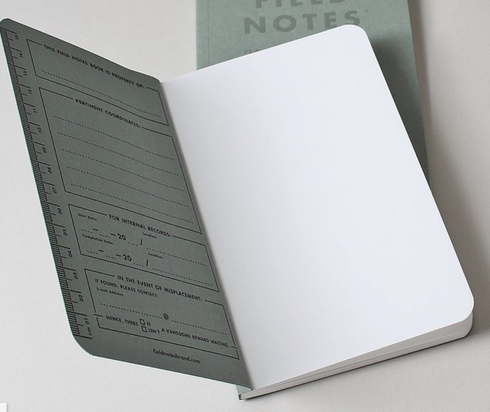 Field Notes Signature Sketch Book - Thirdmark Supply House