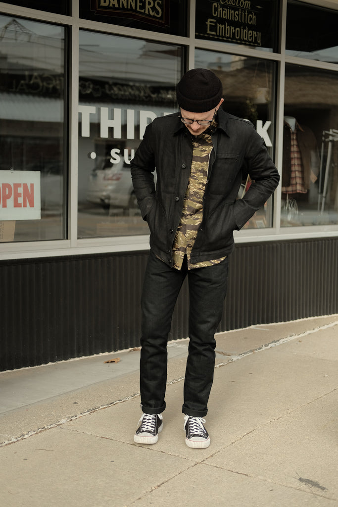 Rogue Territory Stanton Cryptic Stealth Selvedge Denim - Thirdmark Supply House