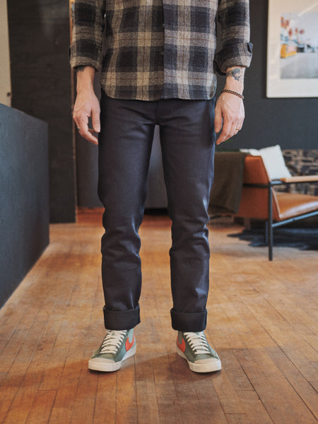 3Sixteen CT-120x 14.5oz Shadow Selvedge - Thirdmark Supply House