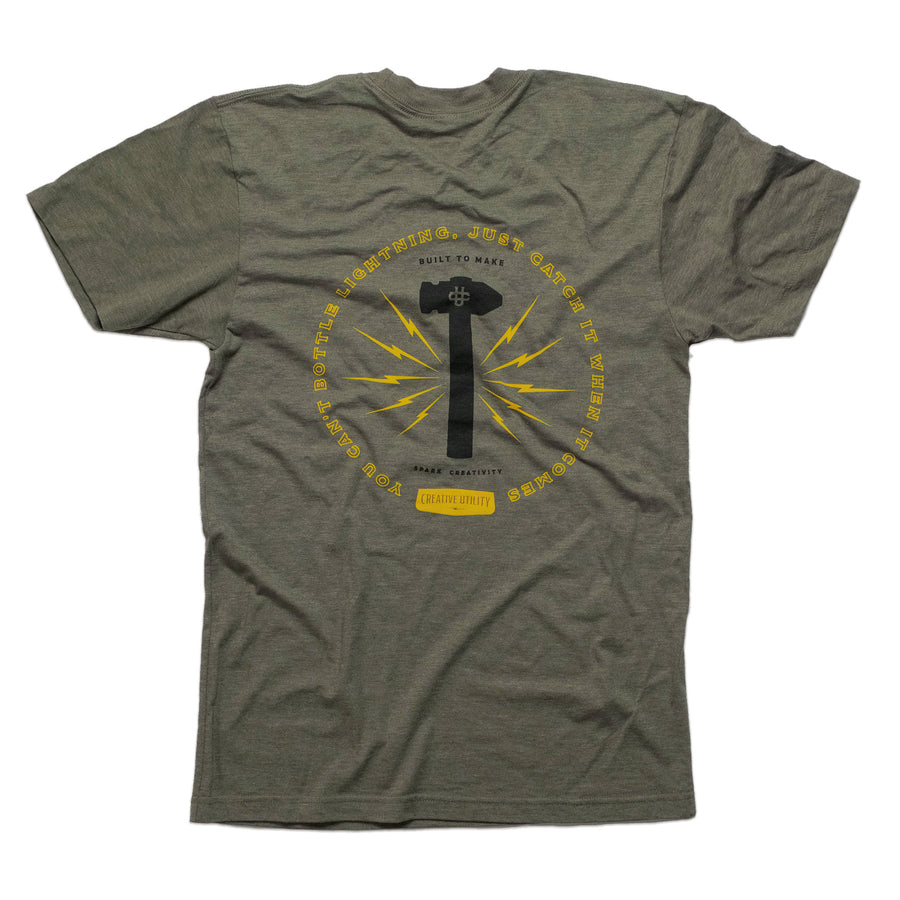 The Lightning Shirt - Green - Division and Co.