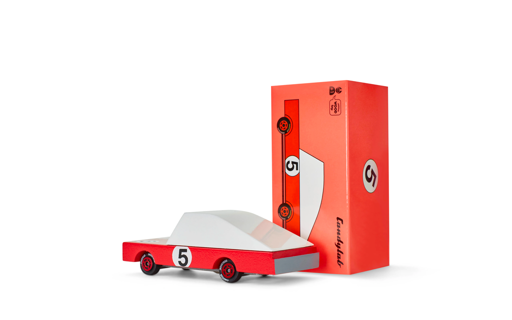 Candycar - Red Racer #5 - Division and Co.