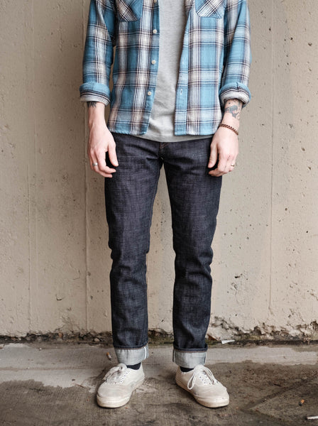 Rogue Territory Stanton - Cryptic Indigo 13.5oz Selvedge Denim - Thirdmark Supply House