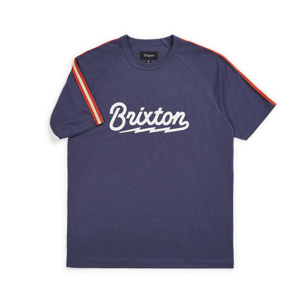 Brixton - Dory Knit Top - Washed Navy - Division and Co.