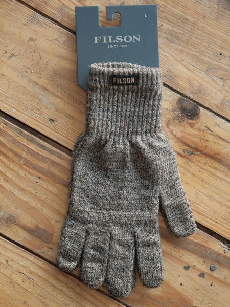 Full Finger Knit Gloves Brown - Thirdmark Supply House