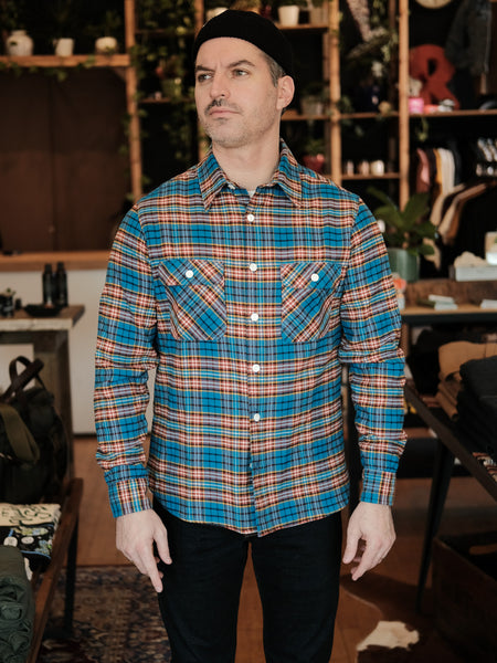 Benson Blue Plaid - Thirdmark Supply House