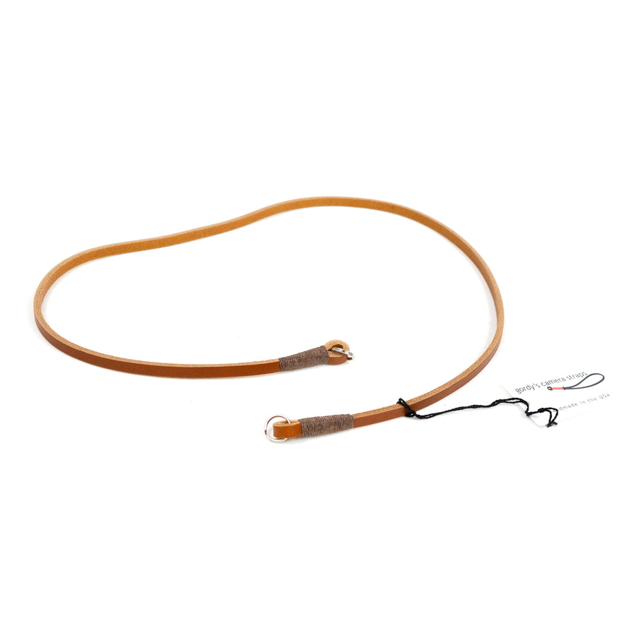 Gordy's Camera Strap - Brown