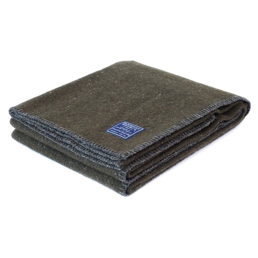 Utility Wool Blanket | Green - Division and Co.