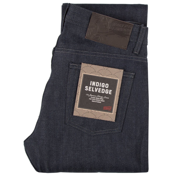 Naked & Famous - Raw Indigo Selvedge - Weird Guy - Division and Co.