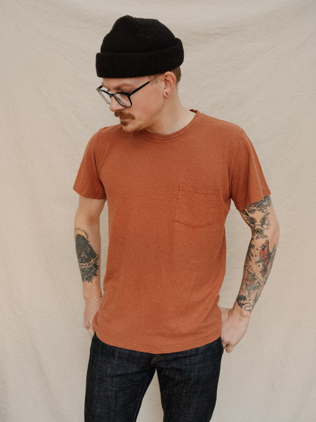 Jung Pocket Tee - Terracota - Thirdmark Supply House