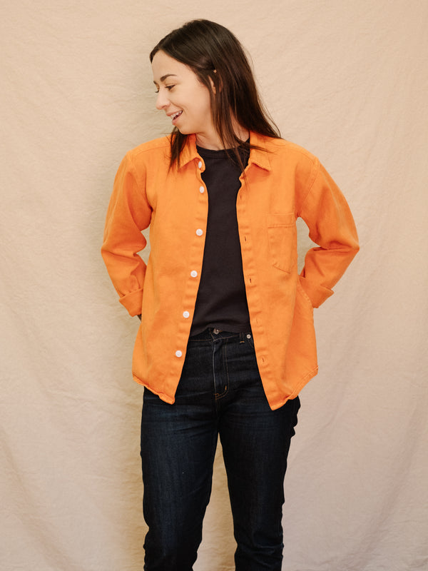 Topanga Shirt - Burnt Orange - Thirdmark Supply House