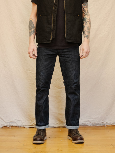 Left Field Greaser 14oz Vidalia Mills Selvedge Denim