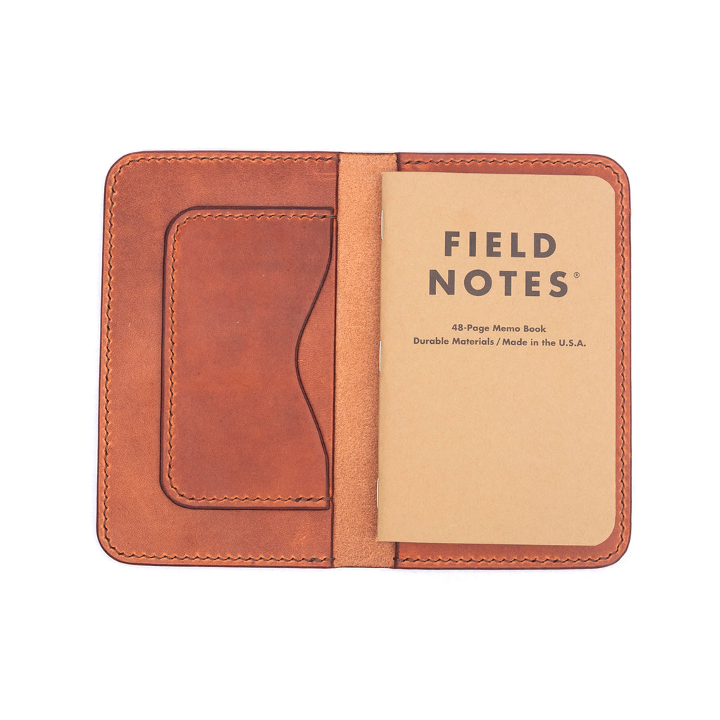 Horween Leather Field Notes Journal Cover - Division and Co.