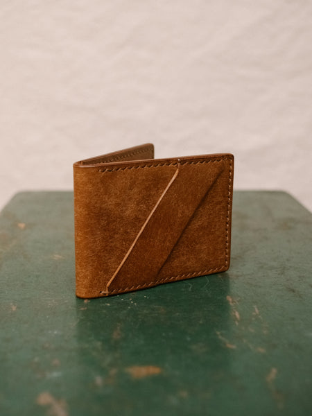 Minimalist Bifold Wallet - Cognac - Thirdmark Supply House