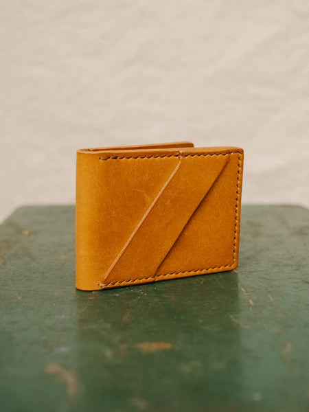 Minimalist Bifold Wallet - Veg Tan - Thirdmark Supply House