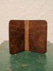 Vertical Bifold Wallet - Pueblo Dark Brown - Thirdmark Supply House