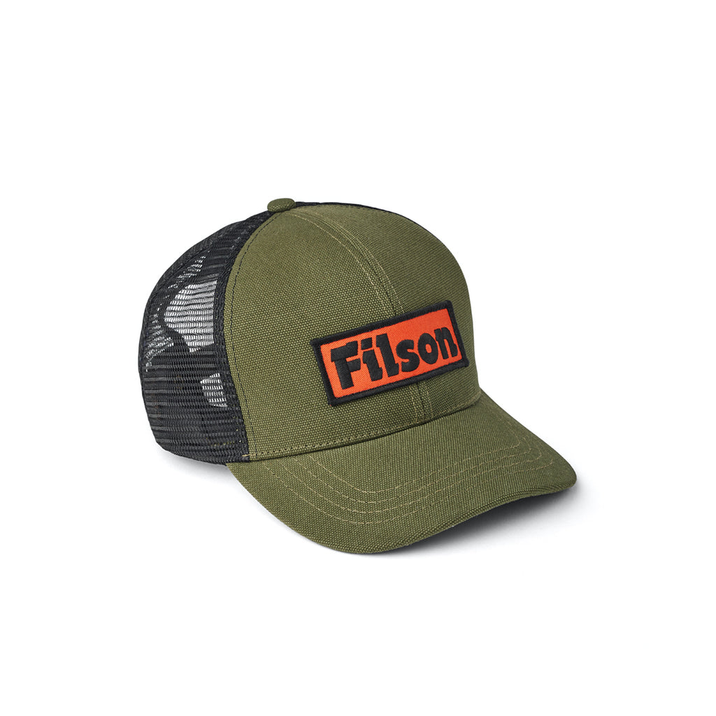 Mesh Logger Cap - Otter Green - Division and Co.
