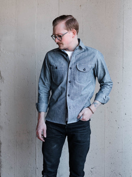 Rogue Territory Work Shirt - Lt. Indigo Canvas - Thirdmark Supply House