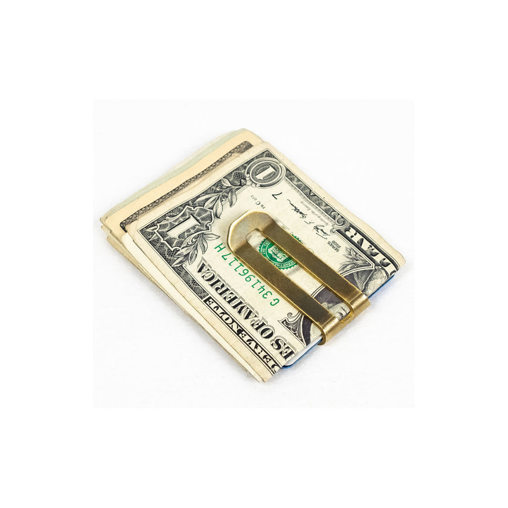 Brass Money Clip - Thirdmark Supply House