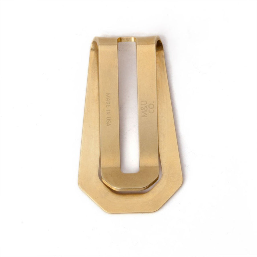 Brass Money Clip - Division and Co.