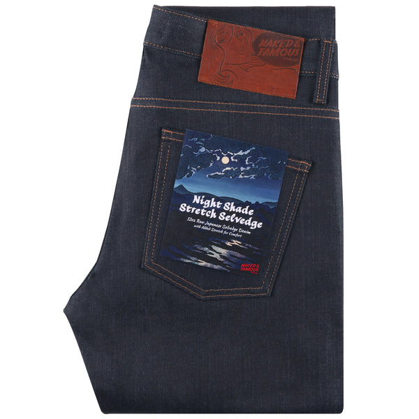 Naked & Famous - Nightshade Stretch Selvedge - Super Guy - Division and Co.
