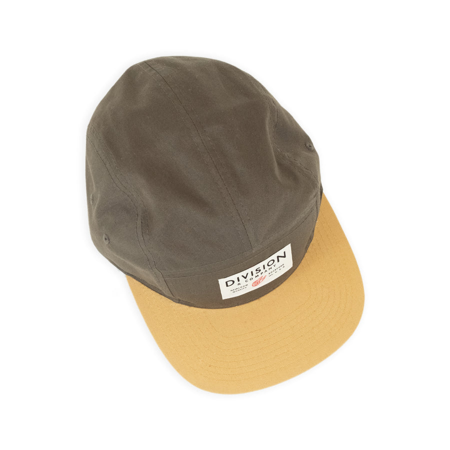 Division & Co. 5 Panel Camp Hat | Olive
