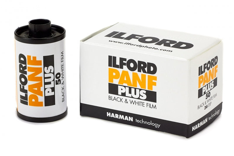Ilford Pan F+ 50 35mm Film - Division and Co.